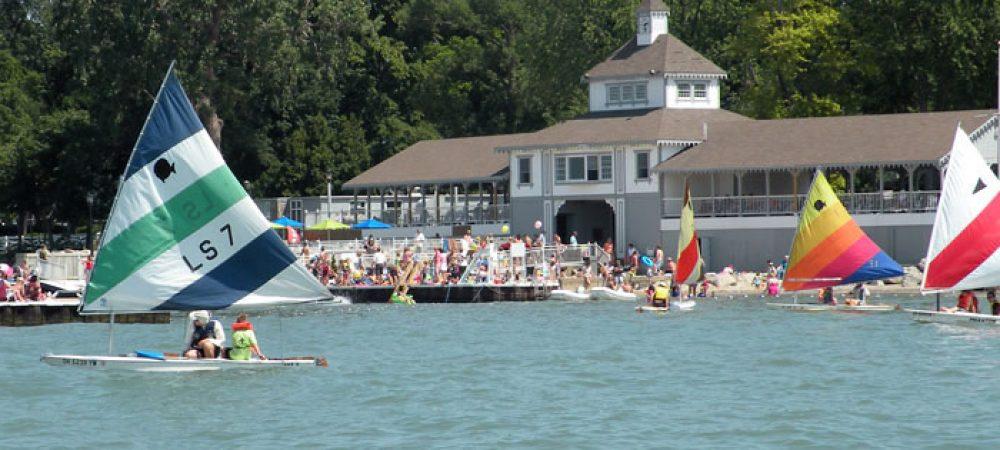 Pavilion Dock Sailing