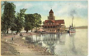 Postcard: Chautauqua Institution, New York