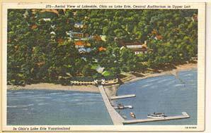 Postcard: Lakeside Chautauqua, Ohio